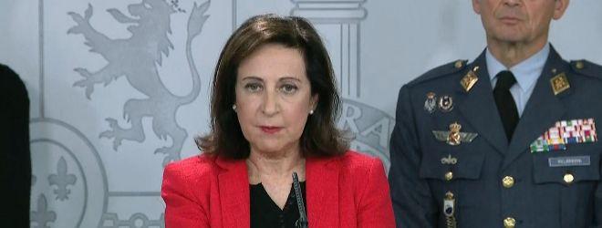 Margarita Robles, ministra de defensa/Ine