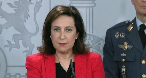 Margarita Robles, ministra de defensa/Ine