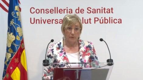 Ana Barceló, consellera de Sanidad de la Generalitat Valenciana./informaValencia.com