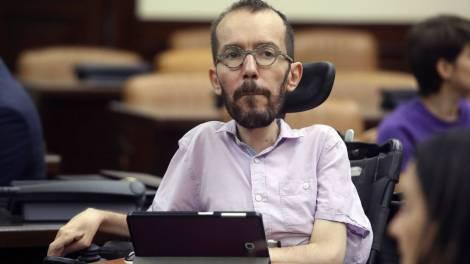 Pablo Echenique Robba, político y físico de origen argentino./LD