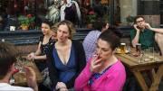 Fumar en las terrazas puede ser fuente de contagios/Img. archivo LD