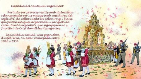 Ilustración del Corpus/Img. M.Guallart