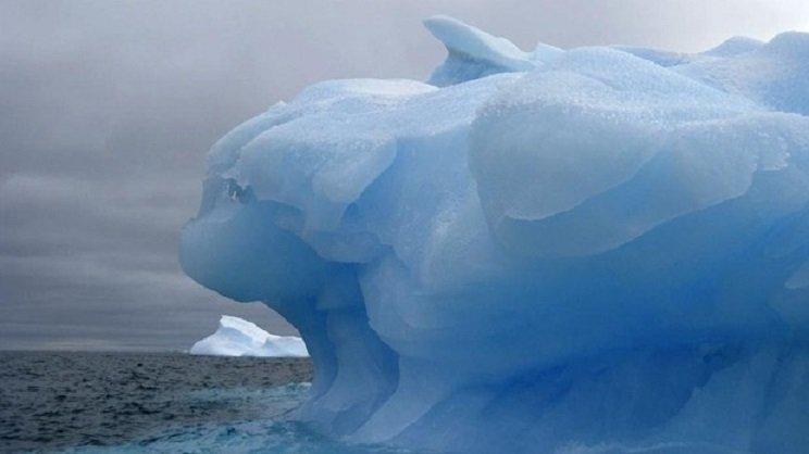 Mar de Weddell en la Antártida/Ag.