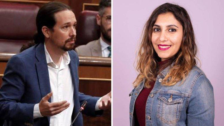 Pablo Iglesias y Dina Bousselham/Cope