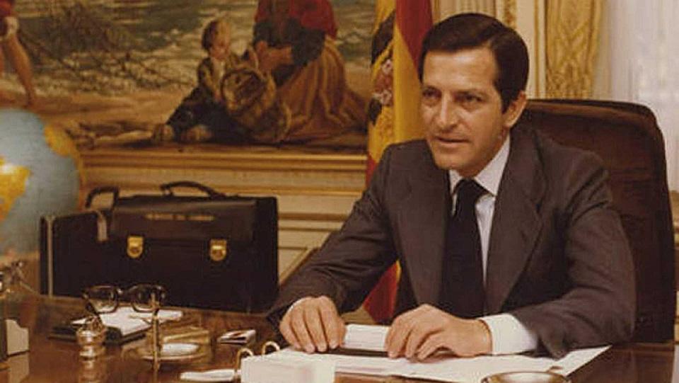 Adolfo Suárez, abogado español, presidente del Gobierno de España entre 1976 y 1981, artífice de la Transición a la democracia en España- informaValencia.com