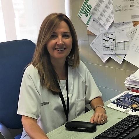 La investigadora principal a la Dra. Mª Cruz González Villaescusa/INCLIVA