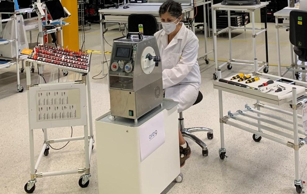 El respirador Aire-19, desarrollado por la UPV, el IBV y AIDIMME cuenta con la colaboración de INCLIVA- Hospital Clínico de Valencia/informaValencia.com