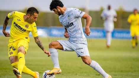 Gonçalo Guedes realizó un excelente partido - VCF