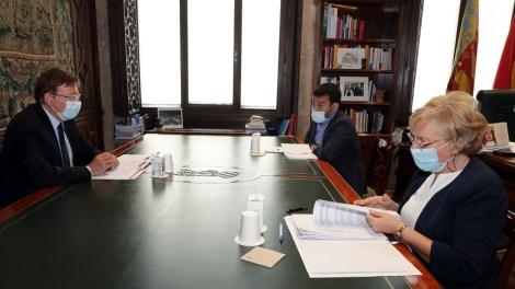 Reunión en el Palau de la Generalitat para analizar la vuelta al cole - informaValencia.com