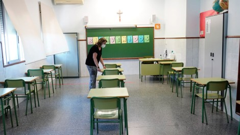 Colegio María Inmaculada, de Alfafar - Img. Alberto Sáiz