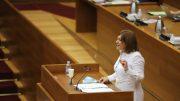 Isabel Bonig en Les Corts Valencianes . informaValencia.com