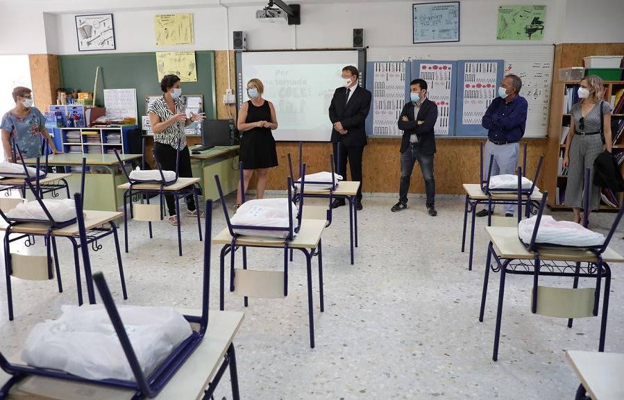 Instalaciones del colegio Mare Nostrum de Valencia - GVA