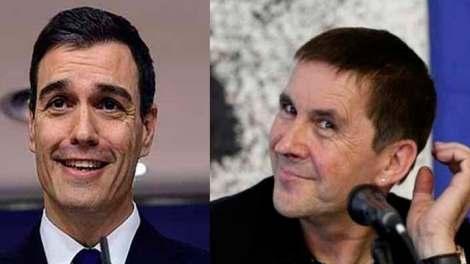 Sánchez, feliz con Bildu - Img. PD