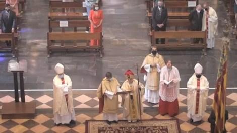 Celebración del solemne Te Deum ('A ti Señor te alabamos`) en la Catedral de Valencia - Archidiócesis Valencia
