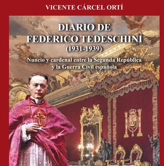 En 2019 el historiador valenciano encuentra y publica el diario del Nuncio del Papa en España durante la II República, Federico Tedeschini/AVAN