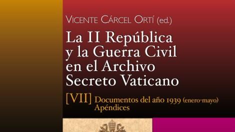 Portada del libro de Vicente Cárcel/Img. AVAN