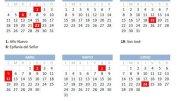 Calendario laboral y festivos en Valencia 2021/Ayto