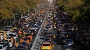 Miles de coches colapsan las ciudades de España para protestar contra la «ley Celaá»/twitter