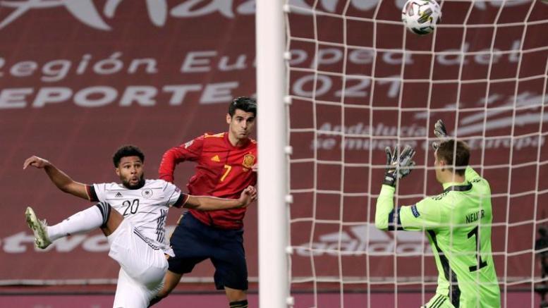 Morata abrió la goleada con este gran remate/Img.twitter