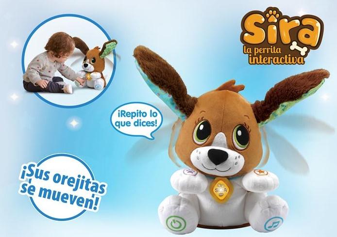El premio a juguete de la primera infancia se lo merece: Sira, la perrita interactiva de VTech.7informaValencia.com