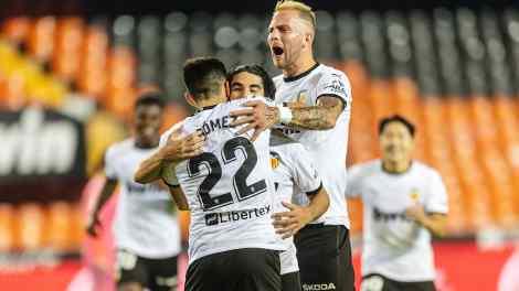 El Valencia goleó al Madrid en Mestalla/Img. VCF