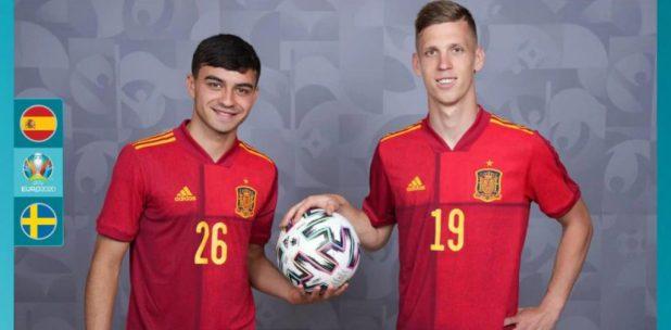 Pedri y Dani Olmo, dos de los máximos exponentes de esta España profundamente renovada./UEFA