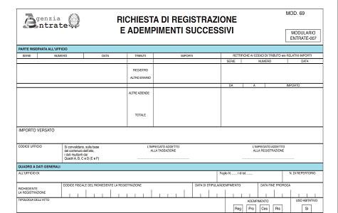Registrazione Contratto Di Comodato Duso Gratuito Tutte Le