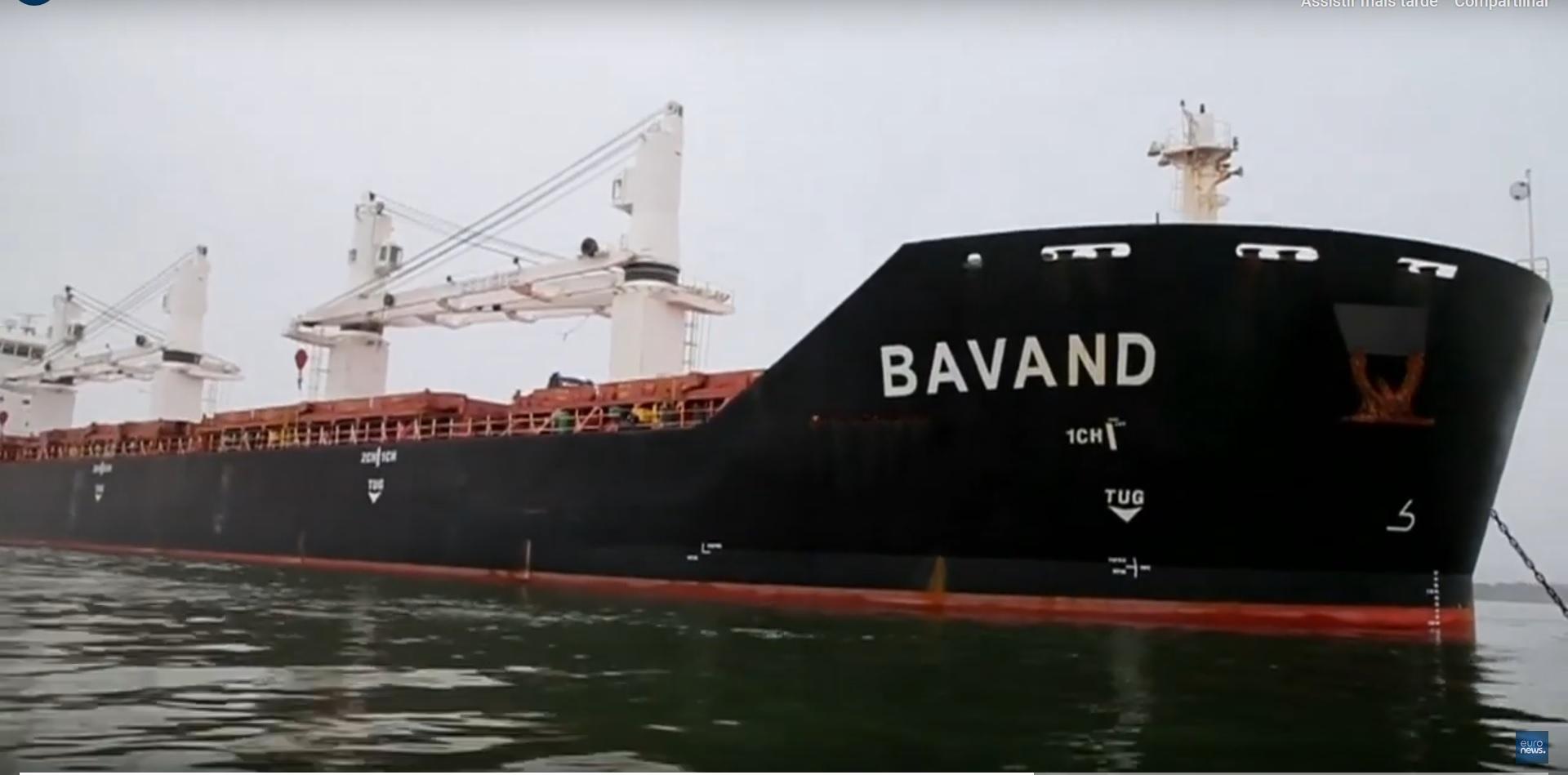 Resultado de imagem para navio iraniano preso no brasil