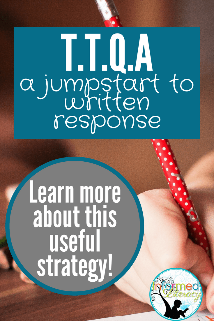small resolution of Turn the Question Around—TTQA - Informed Literacy