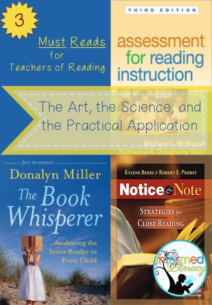 3 Must Reads For Teachers Of Reading Informed Literacy