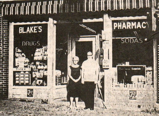 Bob and Eilene in front of the original store in the 1960's.
