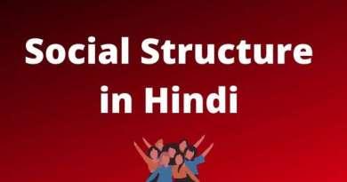 सामाजिक संरचना परिभाषाएं विशेषताएँ - Definition of Social Structure in Hindi