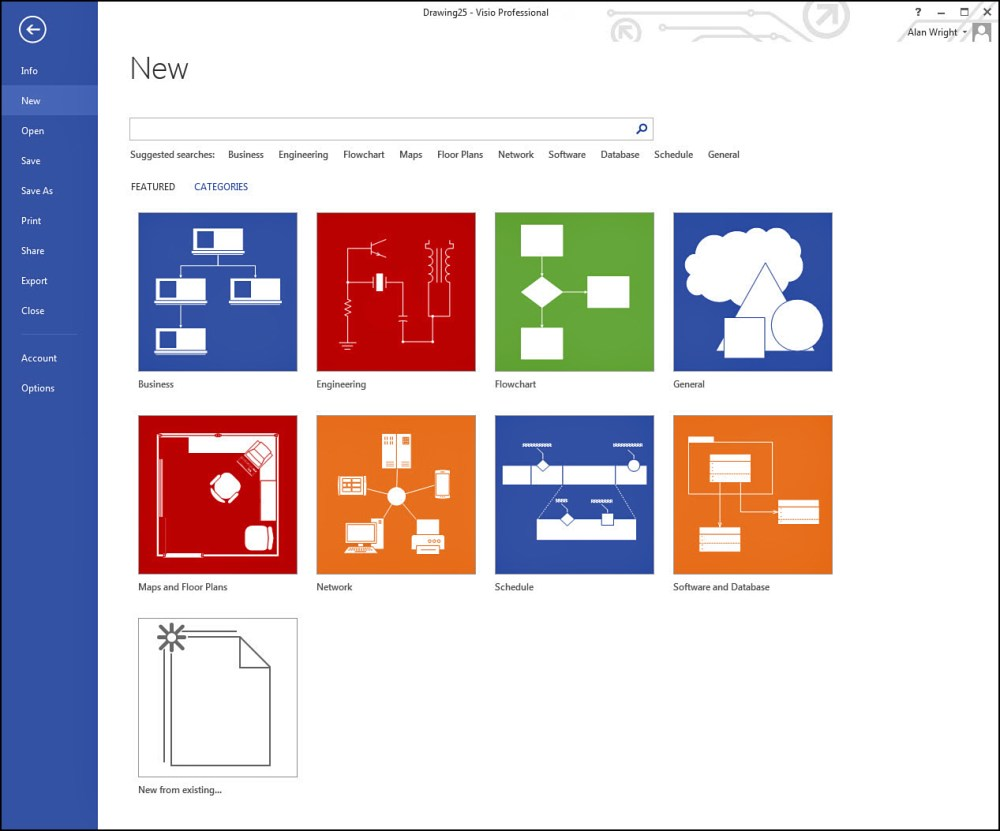 medium resolution of working with basic diagrams in microsoft visio 2013 making diagrams informit
