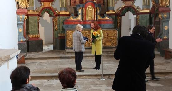 Cenu pamiatkového úradu získala aj Edita Kušnierová