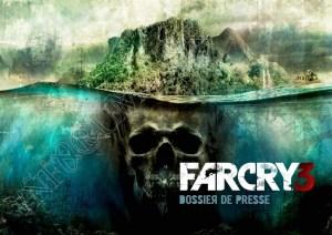 Couverture du dossier presse de FarCry 3