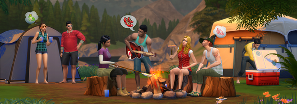 "Capture Les Sims 4 ""Destination nature"""