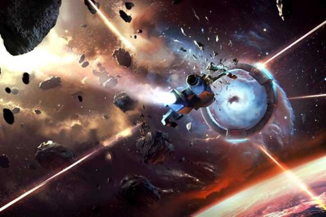 Sid Meier's Starships : Illustration