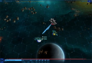 Sid Meier's Starships : Screenshot Combat Marauder