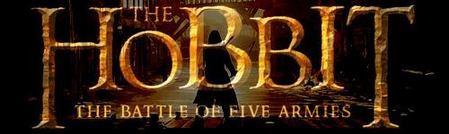 Bannière The Hobbit : The battle of five armies
