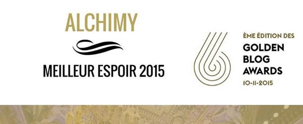 Golden Blog Awards 2015 : Meilleur espoir 2015 !