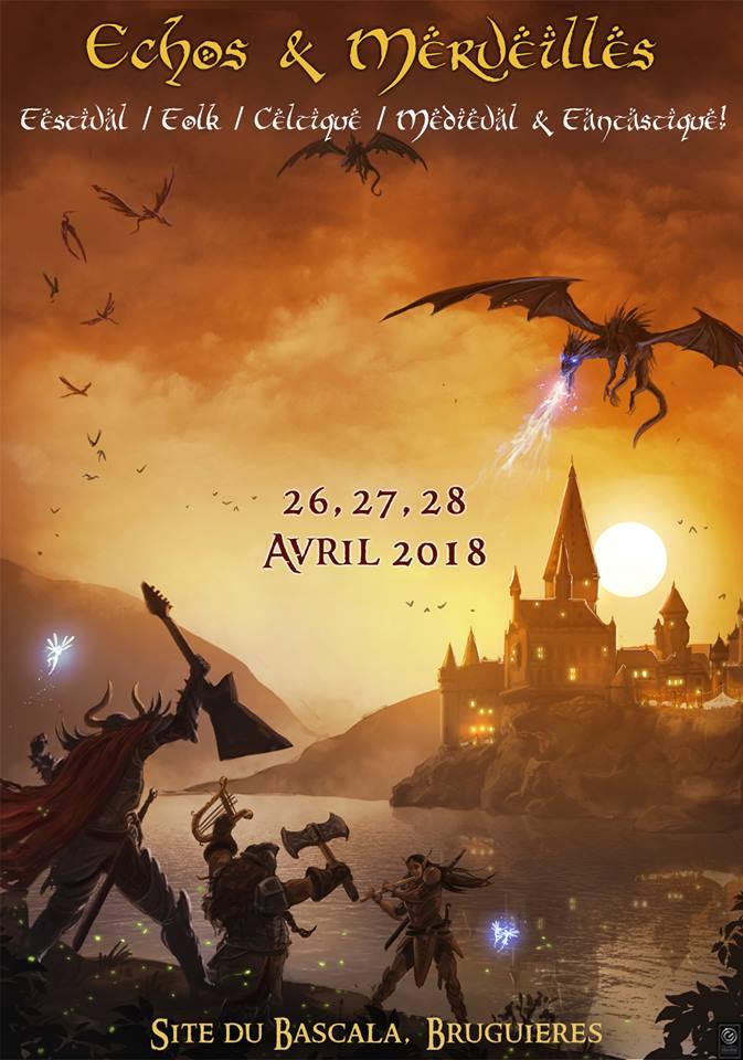 Echos & Merveilles 2018 - Festival Médiéval Fantastique