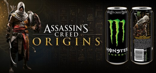 Assassin's Creed Origins x Monster Energy