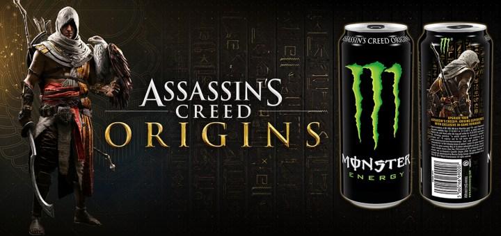Assassin's Creed Origins x Monster Energy