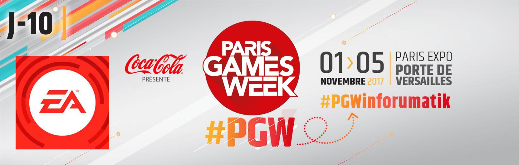 [J-10] Paris Games Week 2017 : Electronic Arts