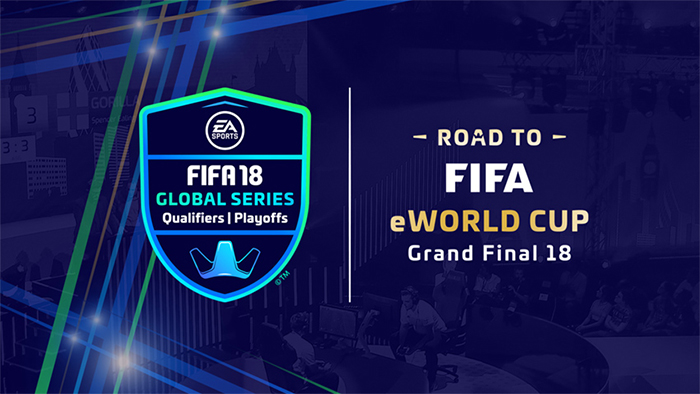 "EA SPORTS FIFA 18 Global Series ""Road  to FIFA eWorld 2018"""