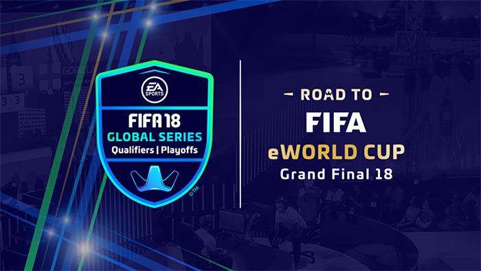 """EA SPORTS FIFA 18 Global Series """"Road  to FIFA eWorld 2018"""""""