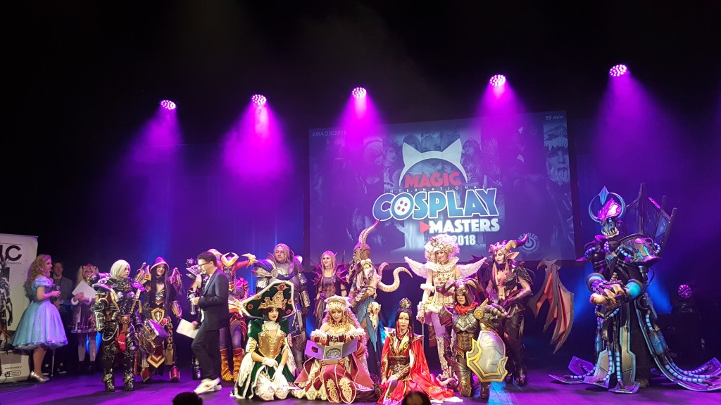MAGIC 2018 : Cosplay Masters