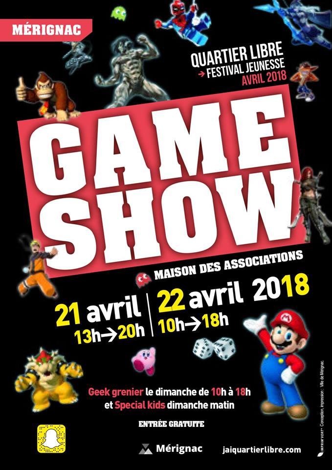 Mérignac Game Show 2018