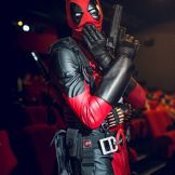 Mr Deadpool, cosplayeur