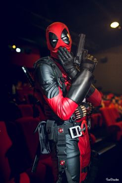 Mr Deadpool, cosplayeur